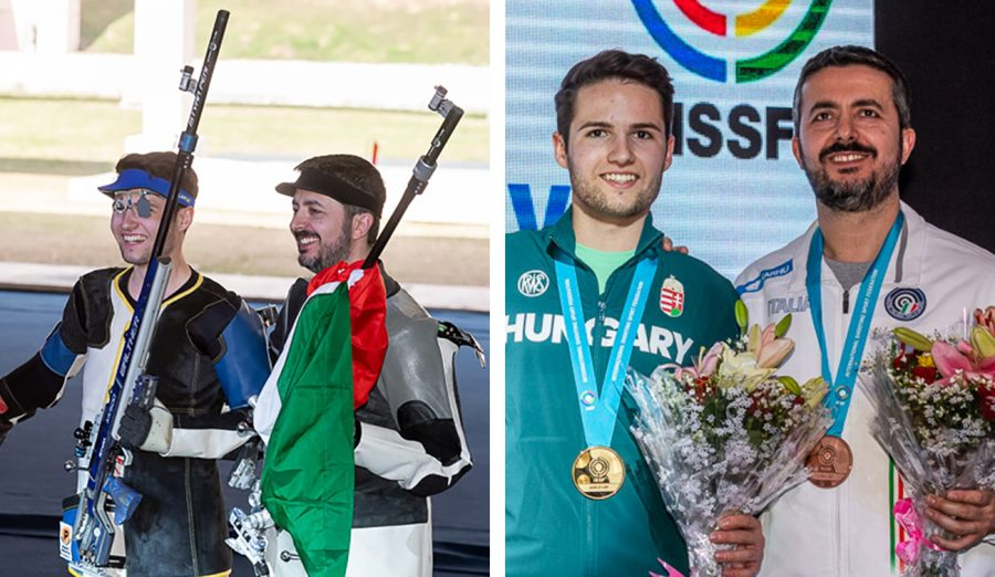 New Delhi WC: 2 medals (and Olympic quotas) in the 3×40 Men event!